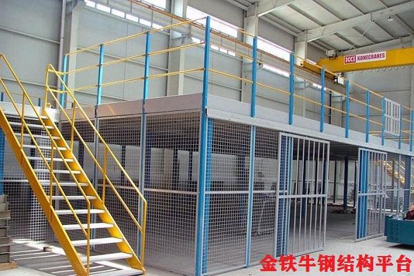 廣州黃埔閣樓貨架案例